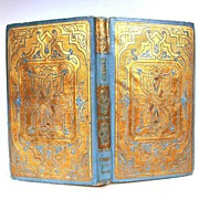 "SOLD Gilt Embossed French Romantic Binding ""Hermance"" circa 1857"