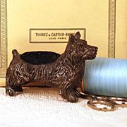 SOLD French Figural Pique-épingle/Pin Cushion circa 1865-1880