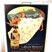 """SOLD Vintage French Affiche (Advertising Sign), """"La Reine Margot"""" circa 1927"""