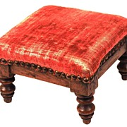 SOLD Antique Nineteenth Century Miniature French Tabouret/Footstool