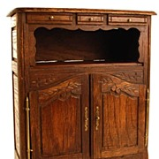 SOLD Miniature French Cabinet