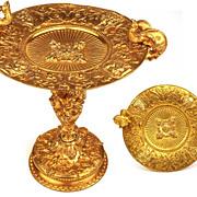 SOLD Antique French Napoleon III BronzelDore Tassa