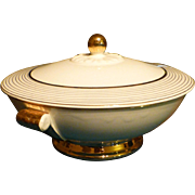 Vintage Taylor Smith & Taylor, China Bowl  Dish,  22 Kt. Gold Accent, Eastern China, Flawless