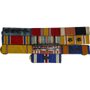 SALE WWII Military Medals, 1940's, Greatest Generation, Militaria
