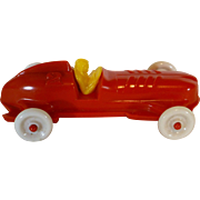 SALE Boat Tail Toy Race Car, 1950's Speedster #2, USA, Renwal like, Racer, Racing.