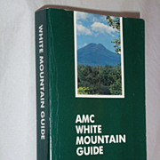 SOLD Appalachian Mountain Club, White Mountain Guide, 1987