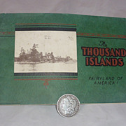 SALE Thousand Islands, Photograph Book, 1920's-30's, New York & St. Lawrence River