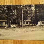 REDUCED Postcard Backbone Mountain Inn, US 50, Red House, Maryland