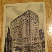 REDUCED Postcard Hotel Saint Regis