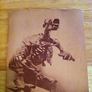 """REDUCED Los Angeles Museum Brochure """"Forty Years at Rancho La Brea"""""""