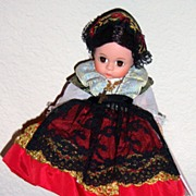 REDUCED Madame Alexander Sicily doll Miniature showcase
