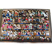 SALE Salesman's Sample Crate Erna Meyer German Dolls 150+