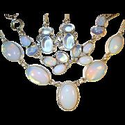 SOLD Opalite Necklace/Bracelet/Earring Set