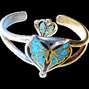 REDUCED Vintage Turquoise Slave Bracelet/Ring