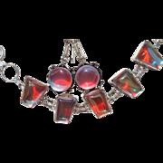 Color Changing Crystal Earrings/Bracelet