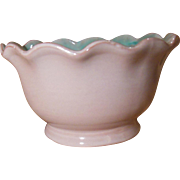 Stangl Terra Rose Small Ruffled Edge Bowl 3506 Initialed EW