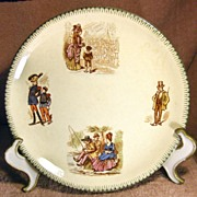 SALE Advertising Plate Fullers Spanish Palace