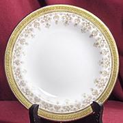 "Pretty Cauldon Tiffany & Co. 6 ¼"" Plate"
