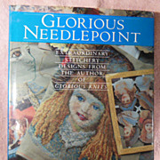 SALE Book – Glorious Needlepoint Extraordinary Stitchery Designs from the Author of Glorious