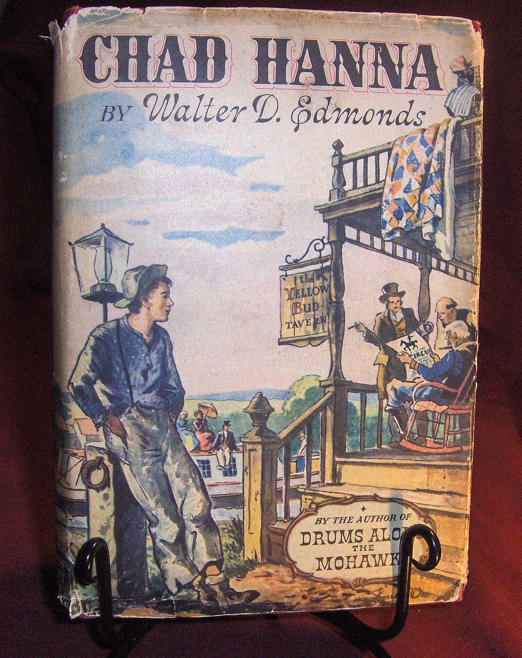 Book – Chad Hanna by Walter D.  Edmonds