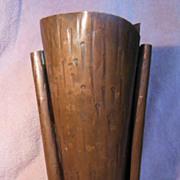 Arts and Crafts Inspired Craftsmen, Inc. #338 Handmade Utah Copper Vase