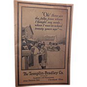 The Templin-Bradley Co. 1920's Seed Catalog