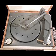 SALE PENDING Mid Century Portable Phonograph Corporation of America Record Player Hi Fidelity