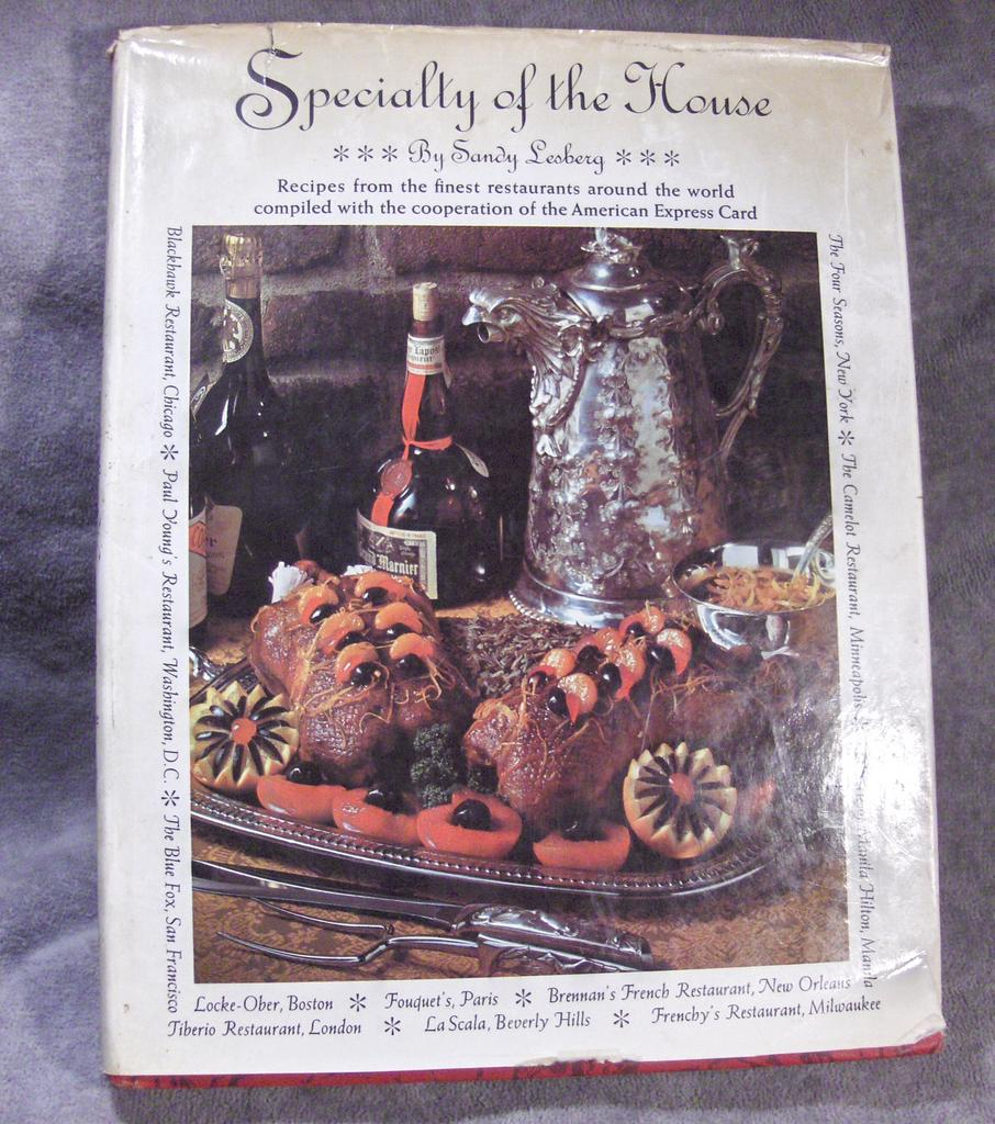 Specialty of the House by Sandy Lesberg