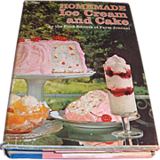 SALE Book – Homemade Ice Cream and Cake Cook