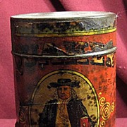 SOLD Early Advertising Quaker Baking Powder Tin or Can with Paper Label