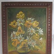 Still Life - Floral Oil Painting by Valerie Ploshay