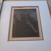Doris Ulmann Signed Photograph / Platinum Print of John Jacob Niles