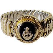 REDUCED U.S. Navy Insignia Sweetheart Bracelet