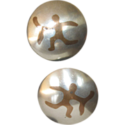 Reveriano & Maria Castillo Sagittarius Mixed Metals Earrings