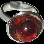 Danish Modern Sterling Ring M.P. Christoftersen, Denmark