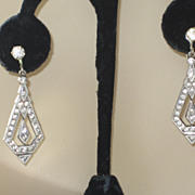 Gorgeous Art Deco Earrings