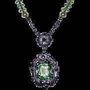 Vintage Art Deco Period Pendant Necklace