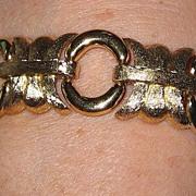 REDUCED Vintage Chunky Givenchy Goldtone Bracelet