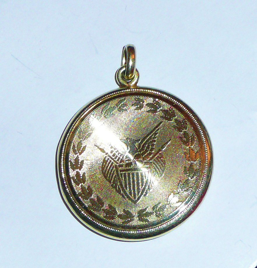 The Great Seal of the United States 14K Gold Locket