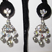 Fabulous Designer Kramer Chandelier Earrings