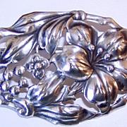 REDUCED Vintage Danecraft Sterling Brooch Flowers