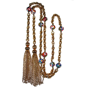 REDUCED Fabulous Tassel Long Necklace 54 Inches