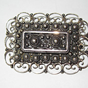 REDUCED Early Norway Sterling Brooch