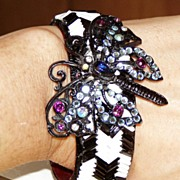 One of a Kind Artist Bracelet Butterfly