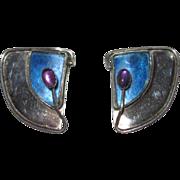 Vintage Studio Earrings Sterling Clips