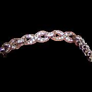 REDUCED Vintage Trifari Rhinestone Bracelet