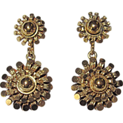 REDUCED Victorian Gold Filled Earrings Pretty!