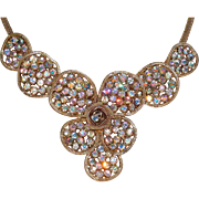 REDUCED Awesome Vintage Brooch and Matching Necklace Set