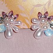 Vintage Sparkling Wendy Gell Earrings