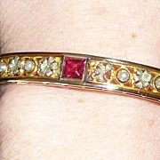 REDUCED Wonderful Antique Bangle Bracelet